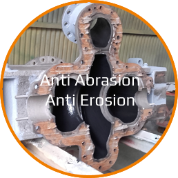 Solution anti-abrasion anti-erosion