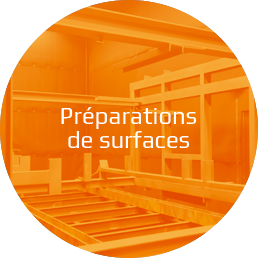 Solution préparations de surfaces