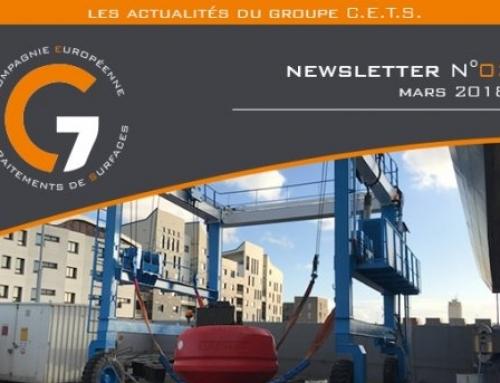 NEWSLETTER N°3 – Mars 2018
