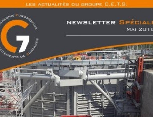 NEWSLETTER SPÉCIALE – MAI 2018